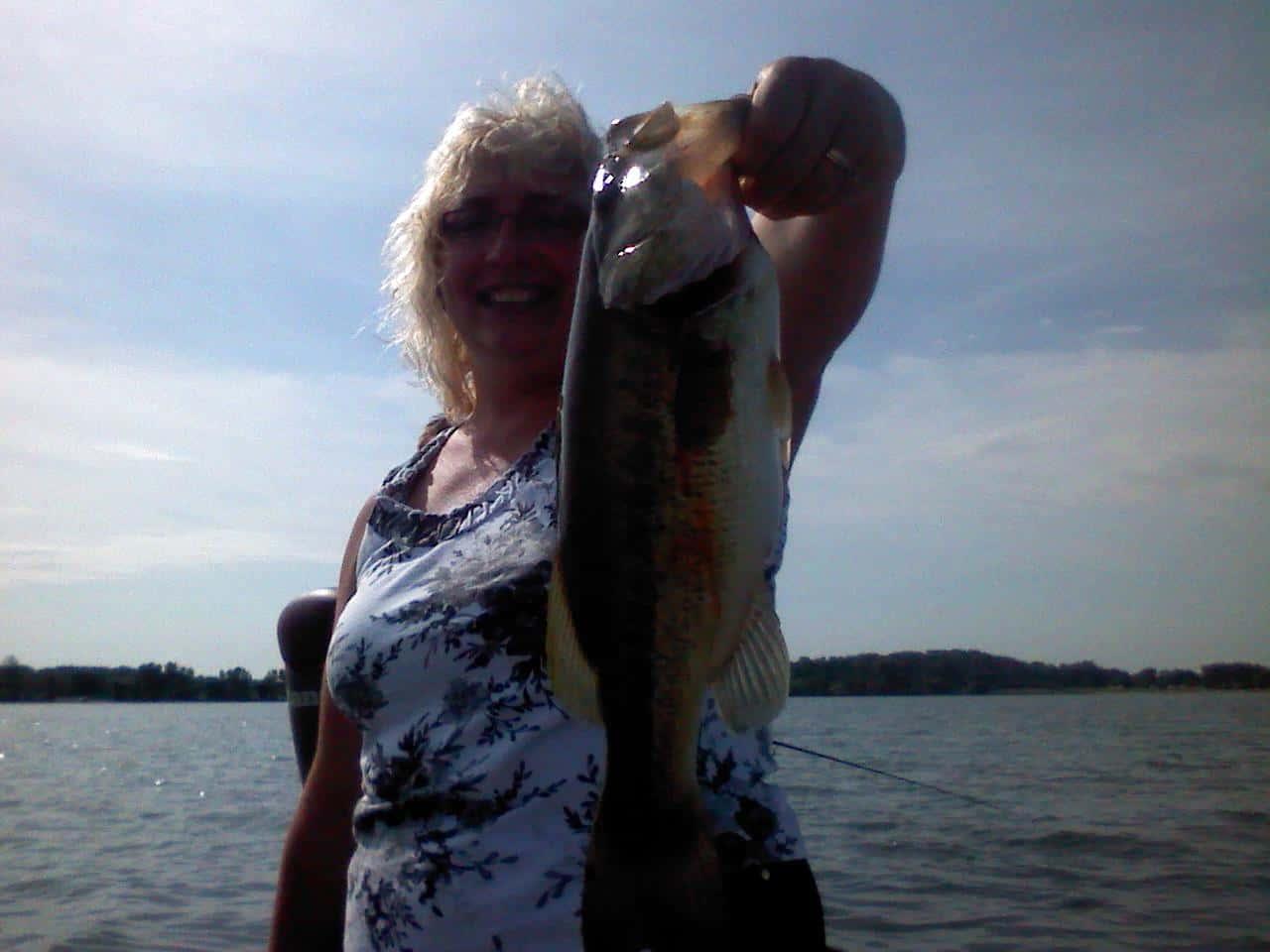 Fishing Largemouth Bass Rita