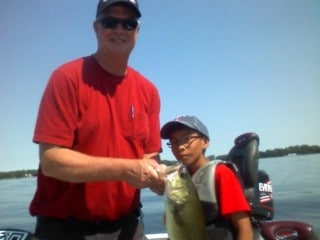 Lake Minnetonka Fishing Erland Bass