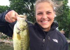 Lake-Minnetonka-Fishing-Guide-first-bass