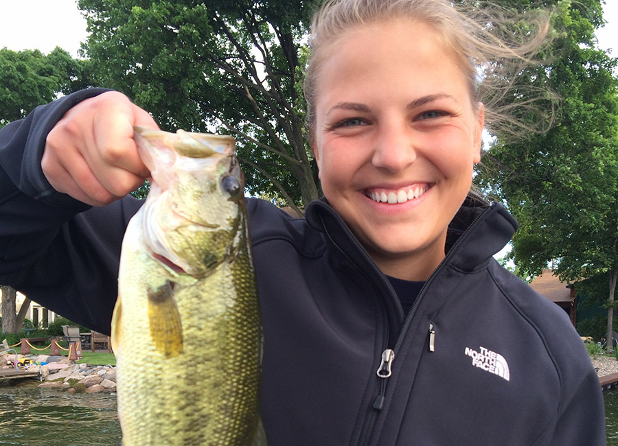 Lake-Minnetonka-Fishing-Guide-first-bass