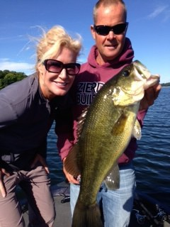 Lake Minnetonka Fishing Guide nice bass 2