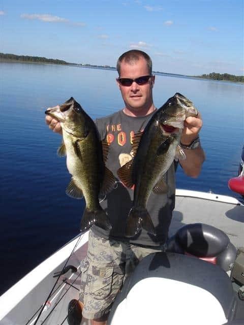 Lake Minnetonka Fishing Guide two toads