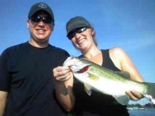 Lake Minnetonka Fishing Monica