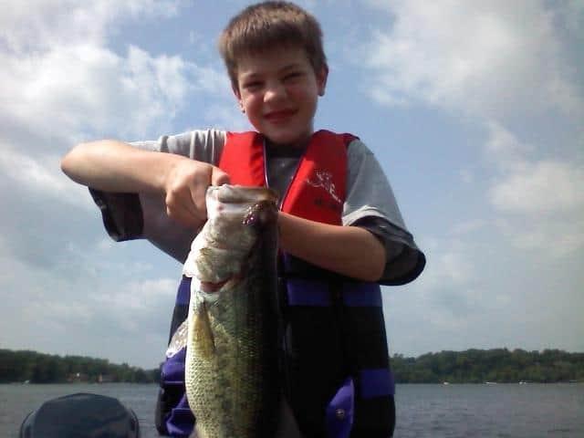 Lake Minnetonka Fishing with Timmy 2012