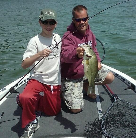 Lake Minnetonka fishing Bass Daniel2