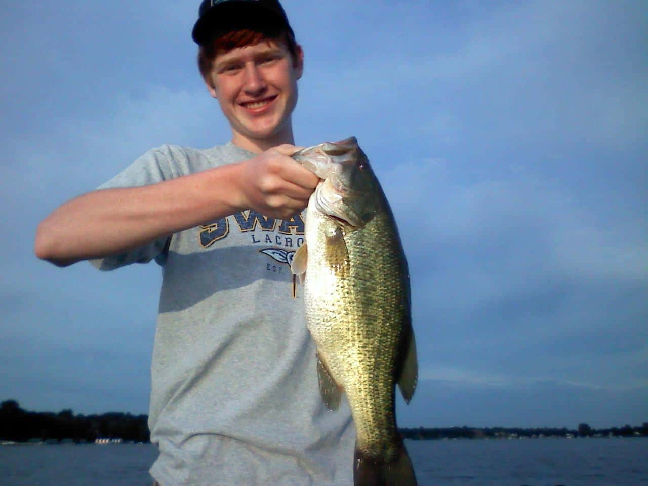 Lake Minnetonka fishing Bass Justin