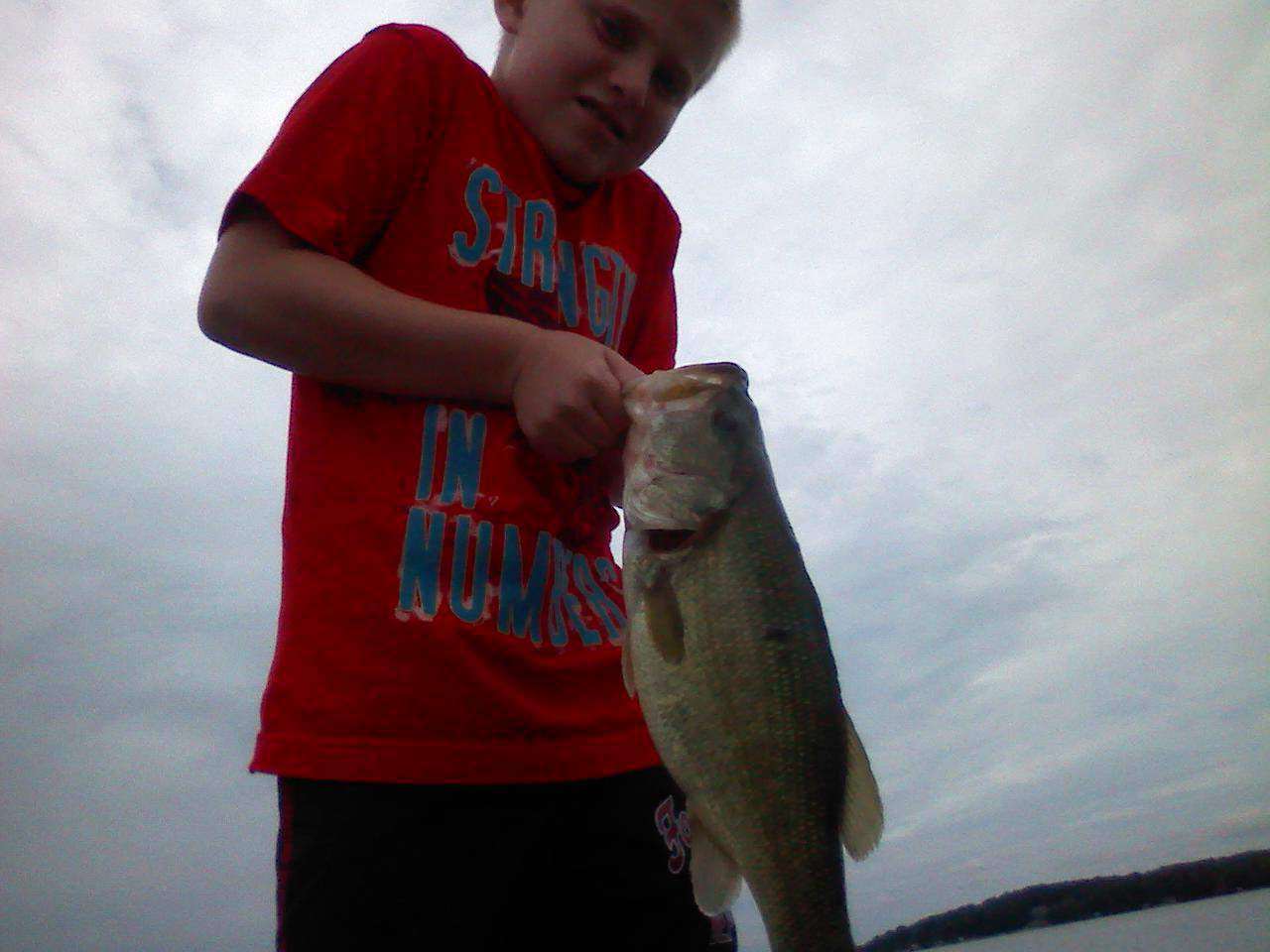 Lake Minnetonka fishing Bass Seth