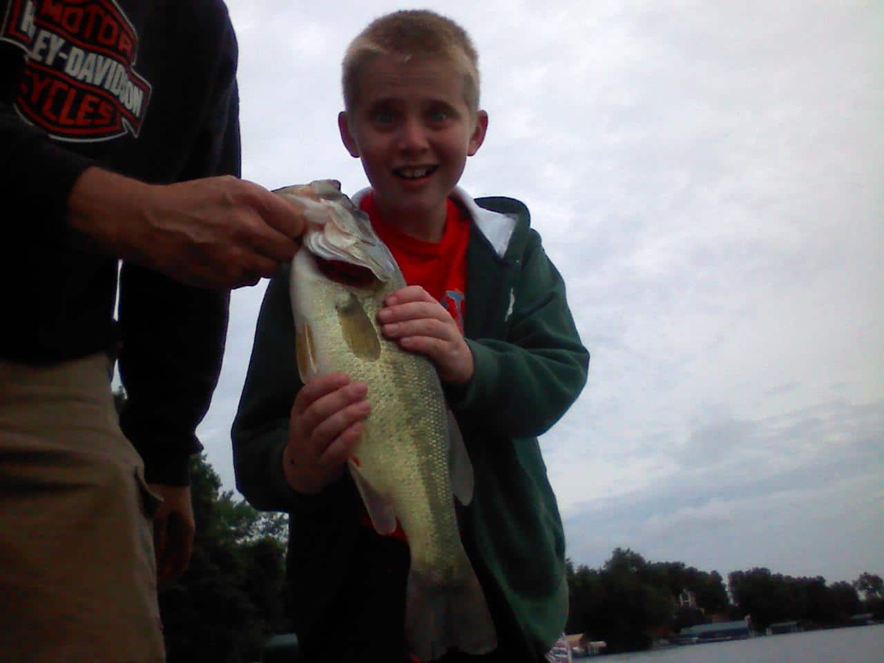 Lake Minnetonka fishing Bass Seth2