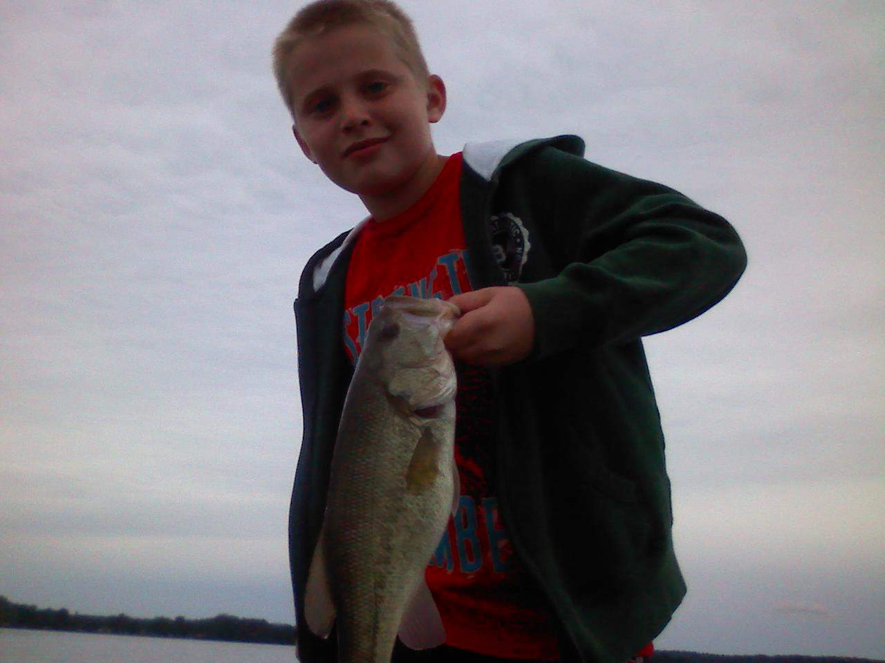 Lake Minnetonka fishing Bass Seth3