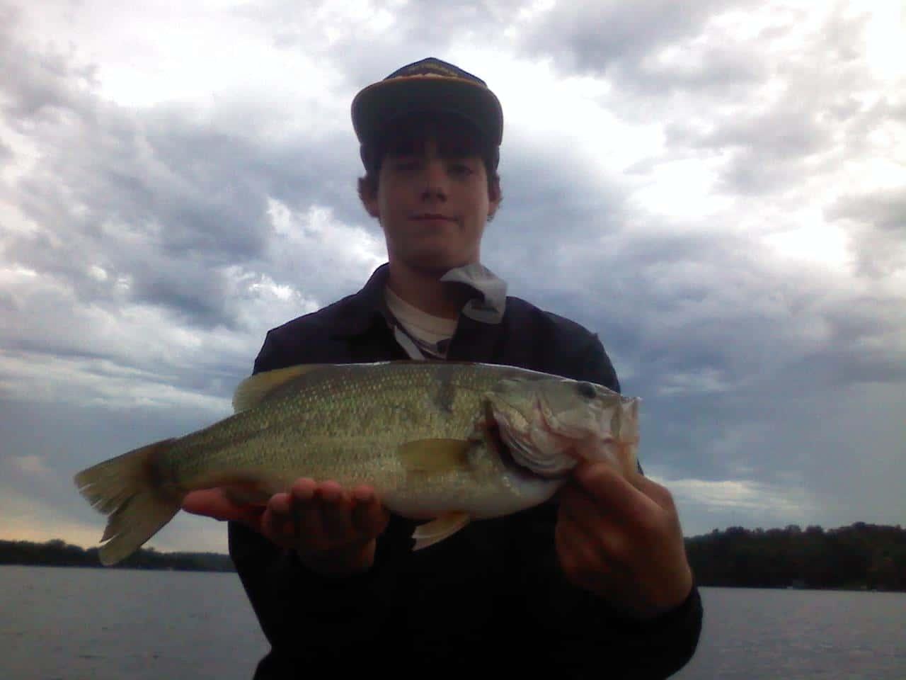 Lake Minnetonka fishing Largemouth Bass Tim
