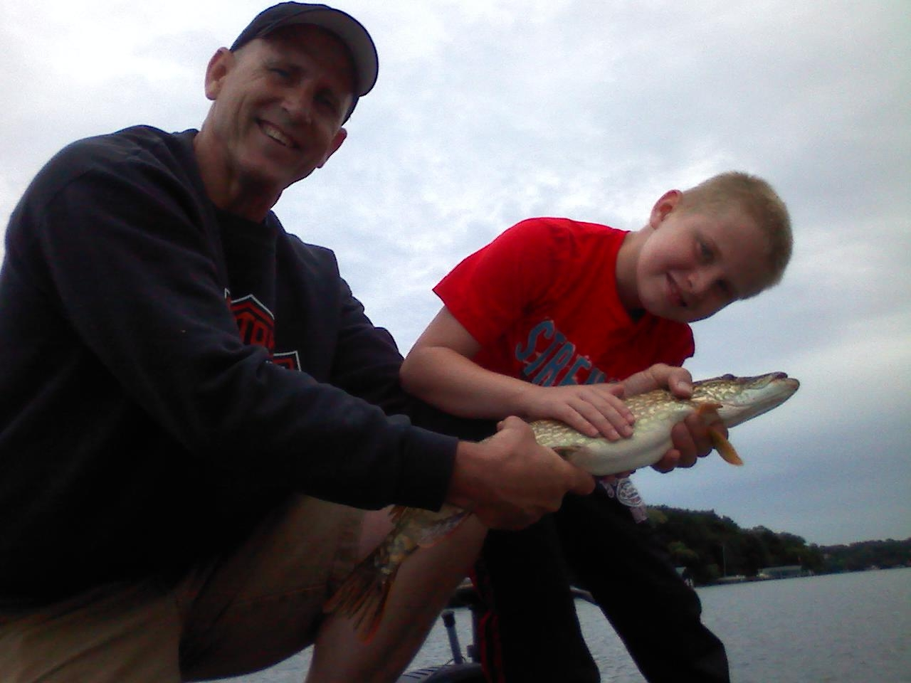 Lake Minnetonka fishing Pete Northern Pike