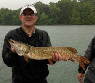 Lake minnetonka Pike fishing with Jeff