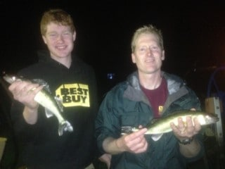 father son walleye 1314